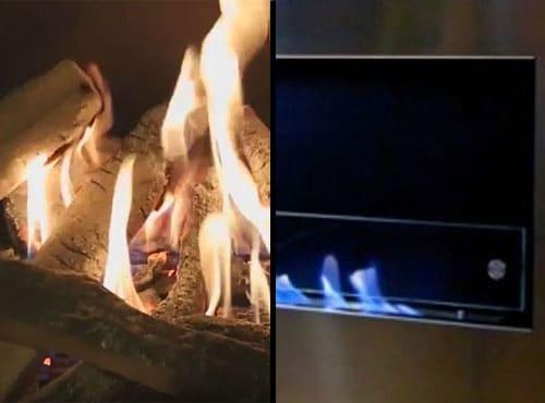 Biokominek a kominek gazowy